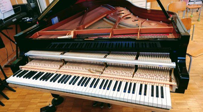 学校のピアノ調律について