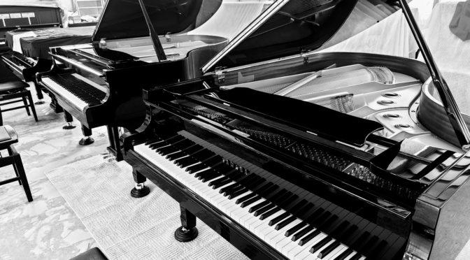 鉄骨が折れたピアノ